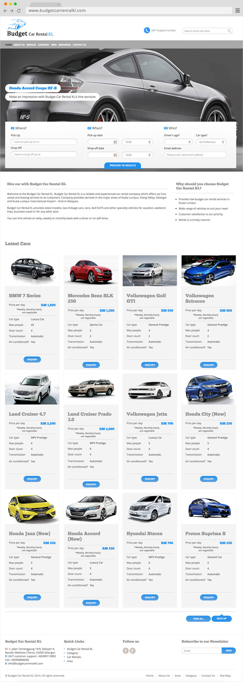 Budget Car Rental KL