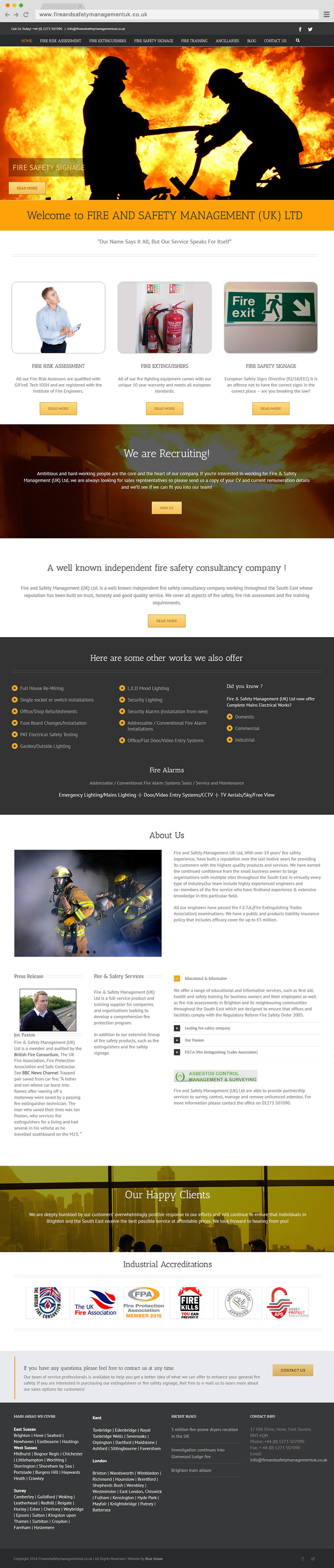 Fire and Safety Management (UK)