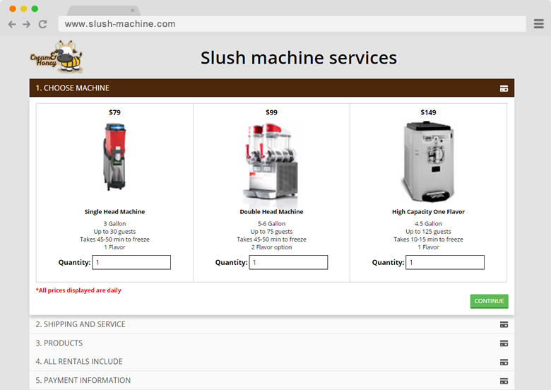 Slush Machine Services