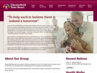 Chesterfield Take Heart
