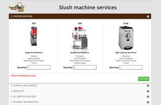 Slush Machine Services
